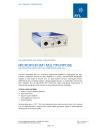 MicroIFEM 2M1 Multipurpose