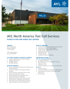 AVL Test Cell Services Brochure