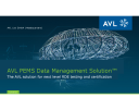 AVL PEMS Data Management SolutionTM